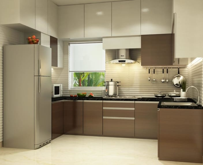 design kitchen laminate countertop 1 000 modular ideas pictures u shaped with modern cabinets and false ceiling