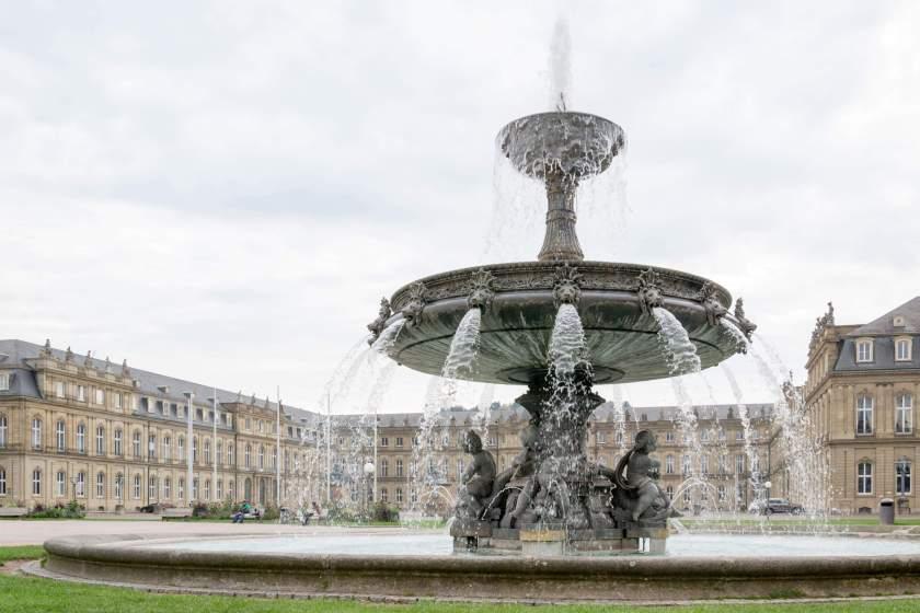 Fontana di Schlossplatz
