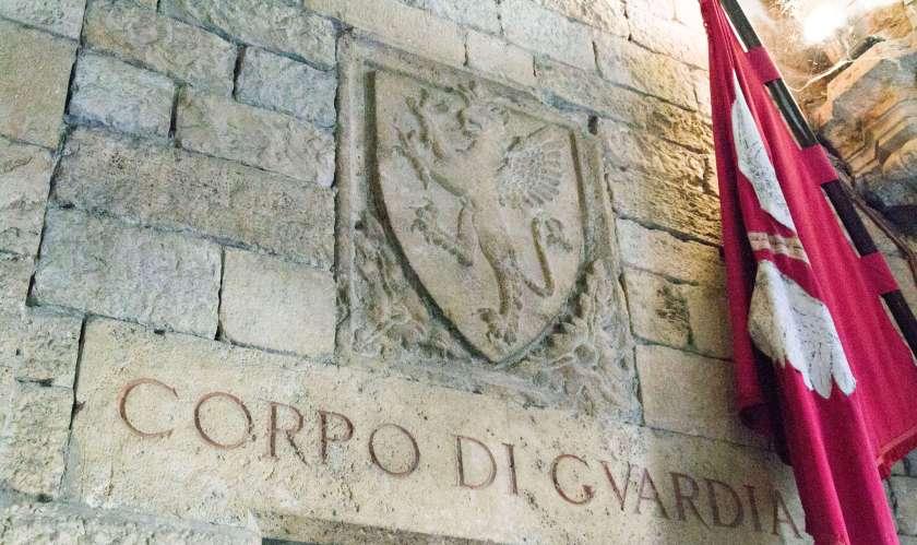 Interno di Palazzo dei Priori