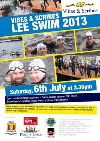 Vibes and Scribes Cork Lee Swim 2013