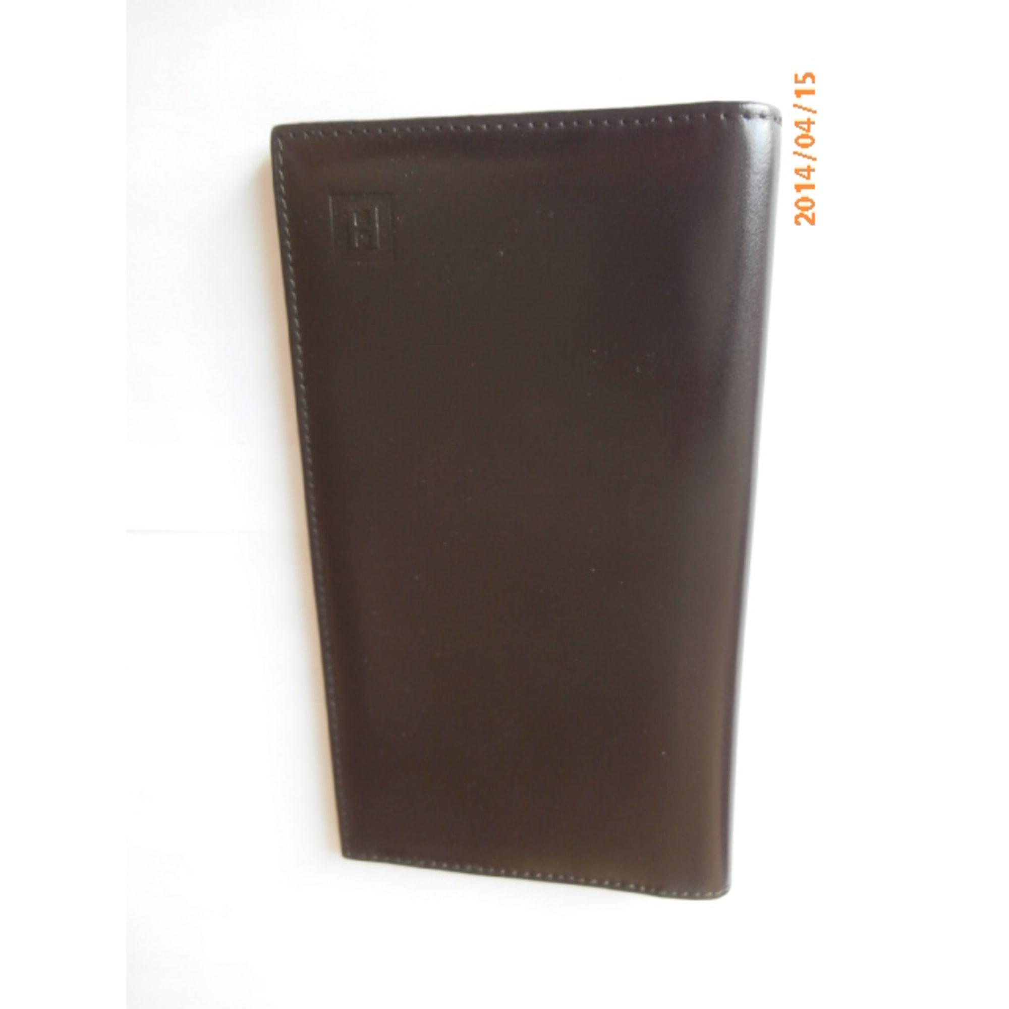 Porta libretto assegni HEXAGONA marrone  2417271
