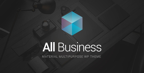 All Business - Best WordPress Theme 2017