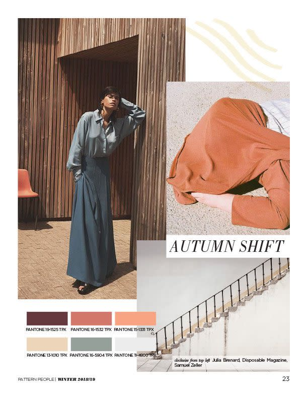 #Pattern People FW 18/19 trend preview, Autumn Shift, on #WeConnectFashion