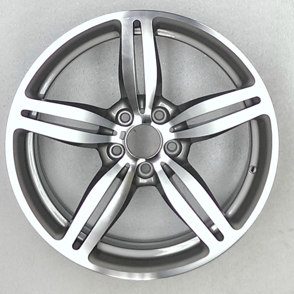 Bmw m6 19″ polished patible replica wheel 2006 2010 36117835146 36112283860
