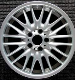 bmw 320i 18 oem wheel 2000 2006 36112229155 [ 1000 x 1000 Pixel ]
