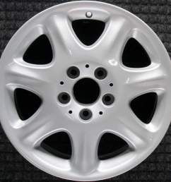 mercedes benz s class 16 oem wheel 2000 2002 qb66470544 2204010102 [ 1000 x 1000 Pixel ]