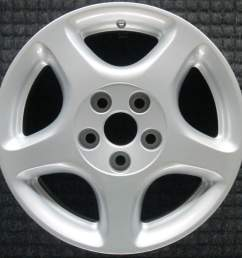 lexus gs300 16 oem wheel 1998 2000 426113a090 426113a081 [ 1000 x 1000 Pixel ]