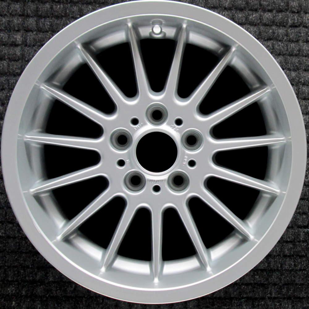 medium resolution of bmw 525i 17 all silver oem wheel 1997 2003 36111092961 1092961