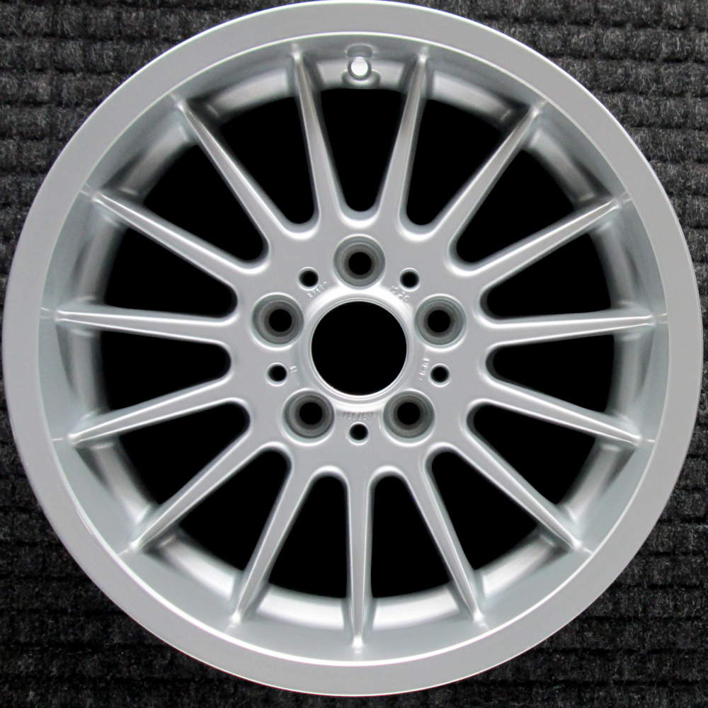 hight resolution of bmw 525i 17 all silver oem wheel 1997 2003 36111092961 1092961