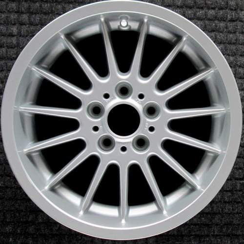 small resolution of bmw 525i 17 all silver oem wheel 1997 2003 36111092961 1092961