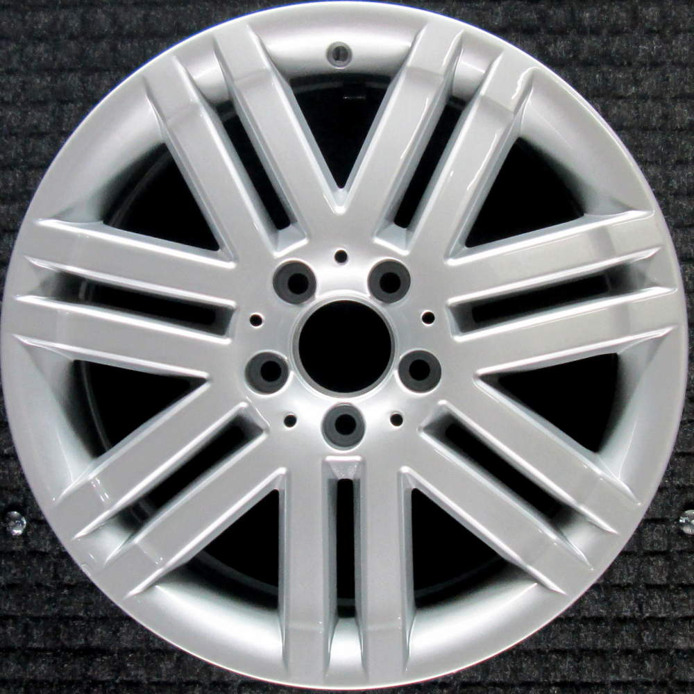 hight resolution of mercedes benz c300 all silver 17 inch oem wheel 2008 2009 2044010502 204401050