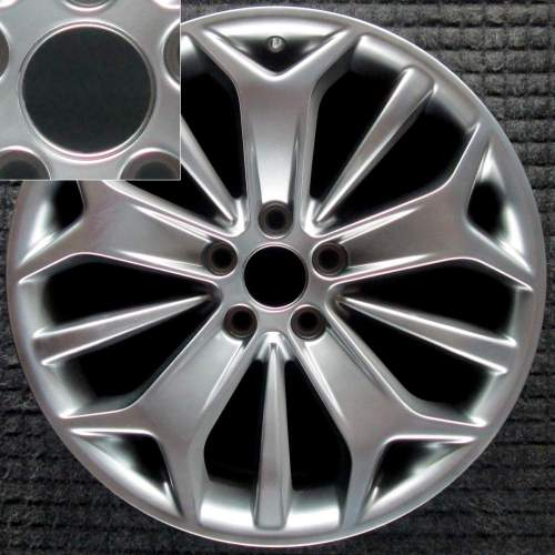 small resolution of ford taurus 19 hyper w center cap lip oem wheel 2013 2017 dg1z1007j