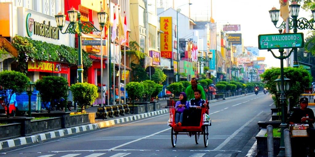 Exciting Yogyakarta Night Life Malioboro in Yogyakarta