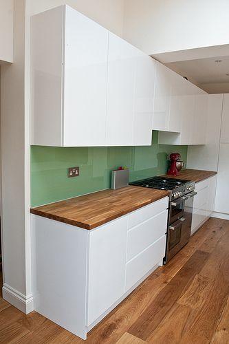 White Kitchen Units Wood Worktop white kitchen units wood worktop kitchen with wood worktops cliff
