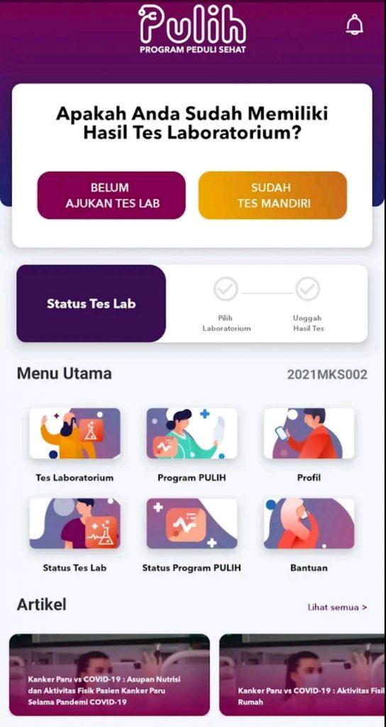 Aplikasi PULIH Permudah Akses Terapi dan Informasi Seputar Kanker