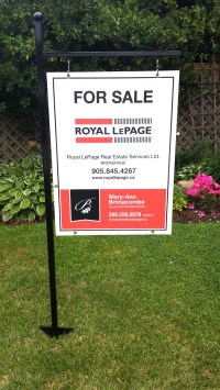 Real Estate Signs, Sign Posts, Open House Signs, A Frames ...