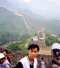 爬上北京长城啦
