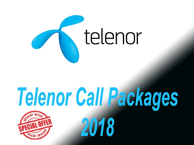 Telenor Call Packages 2018