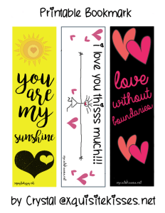 Girly Bookmarks