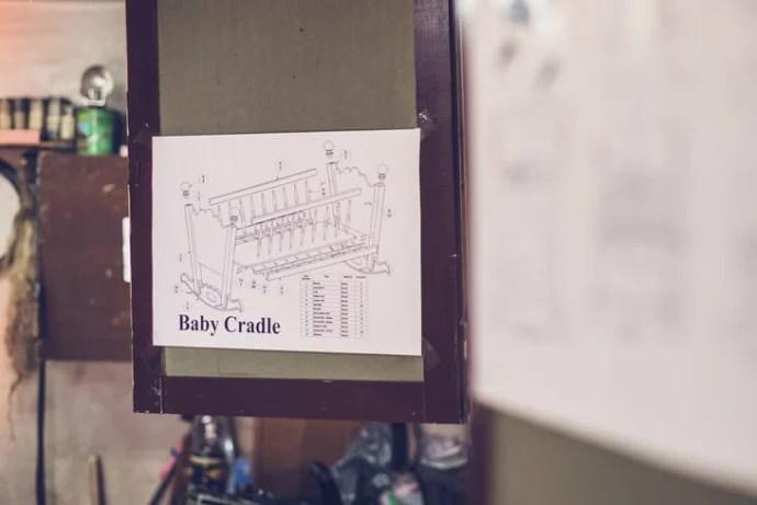 baby crib plan