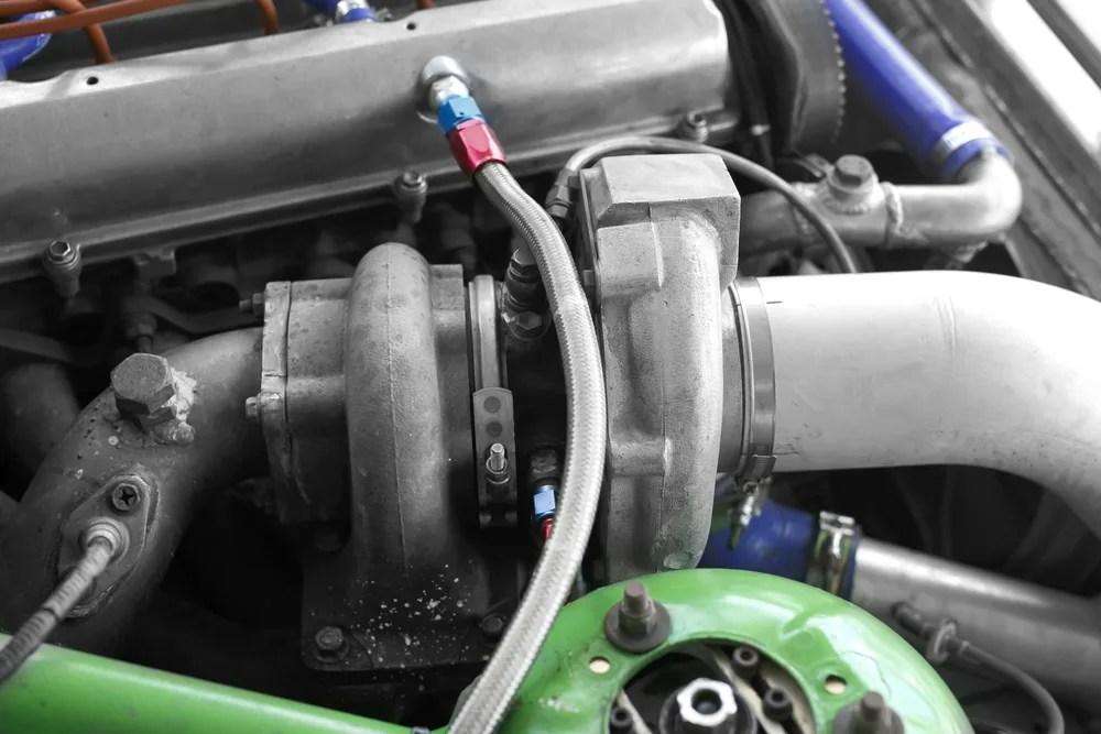 failing exhaust pressure control valve