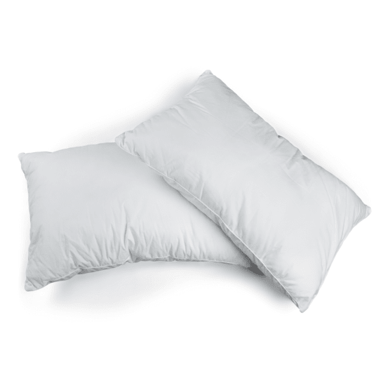 lush living sleep solutions hotel range hypoallergenic cotton pillows set of 4