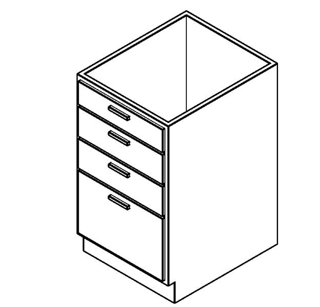 kitchen base cabinets imperial equipment 橱柜 家用厨房 底柜 4 个抽屉 土木在线