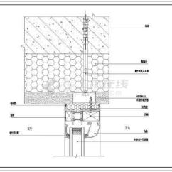 Kitchen Shutters Table Chairs Set 各种系列断桥隔热铝合金门窗节点详图_cad图纸下载-土木在线