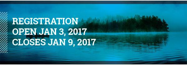 REGISTRATION OPENS JAN 3