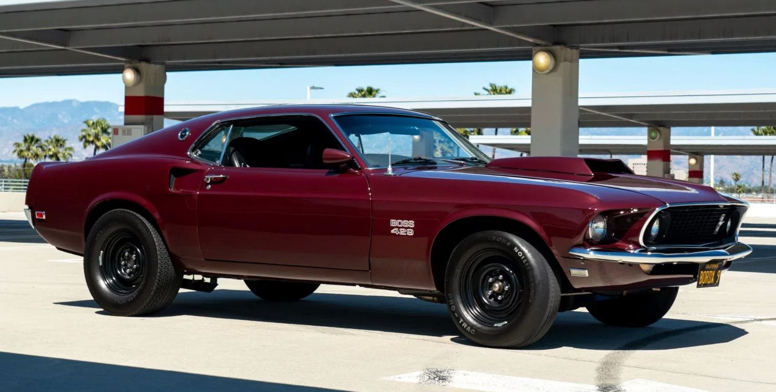 1969 ford mustang fastback sportsroof mach1 shelby 302 automatic no reserve. John Wick Would Kill For This Rowdy 1969 Ford Mustang Boss 429 Tribute Car Opera News