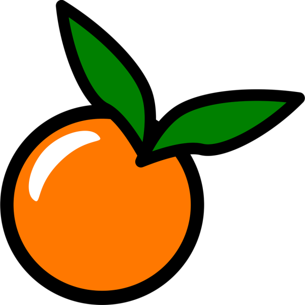 orange free stock illustration