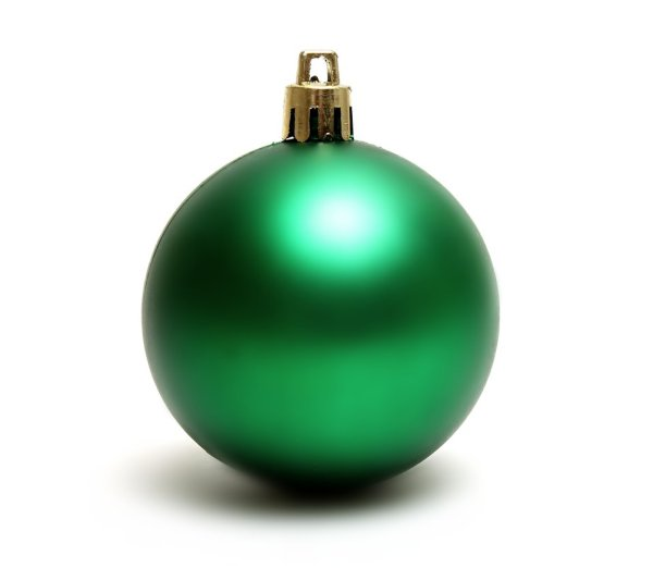 Ornament Green Free Stock Photo A green Christmas