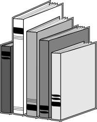 clipart books library stack clip illustration row clipartbest powerpoint collection