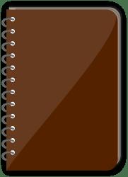 notebook illustration spiral transparent clipart vector bound background cliparts svg clip log collection buku library designs screenshot