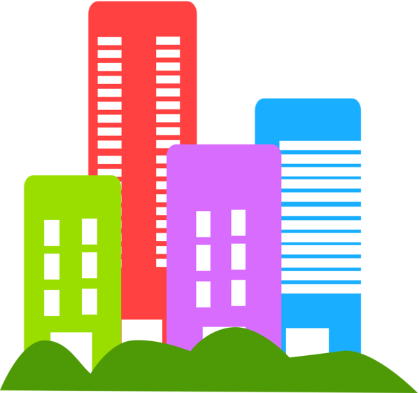 Buildings Free Stock Illustration Of City # 15344