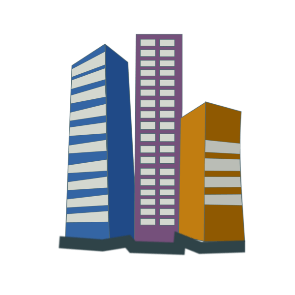 Buildings Free Stock Illustration Of Office In City # 15363