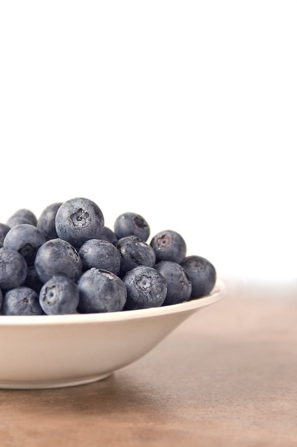Blueberries Free Stock Bowl Of