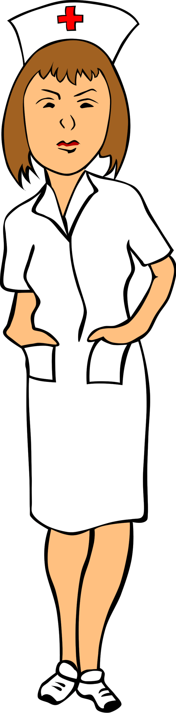 nurse free stock illustration
