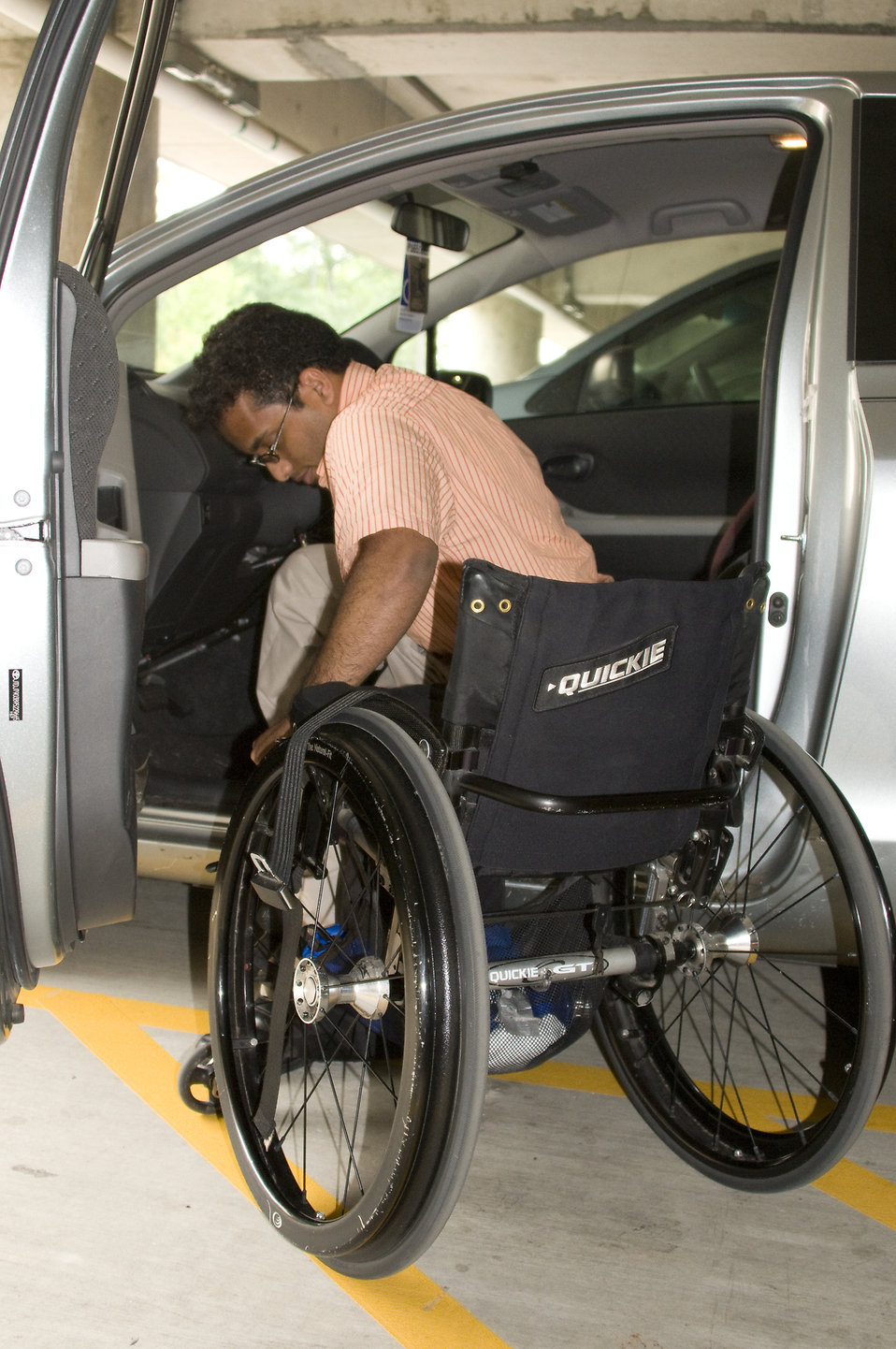Disabled  Free Stock Photo  A disabled man in a