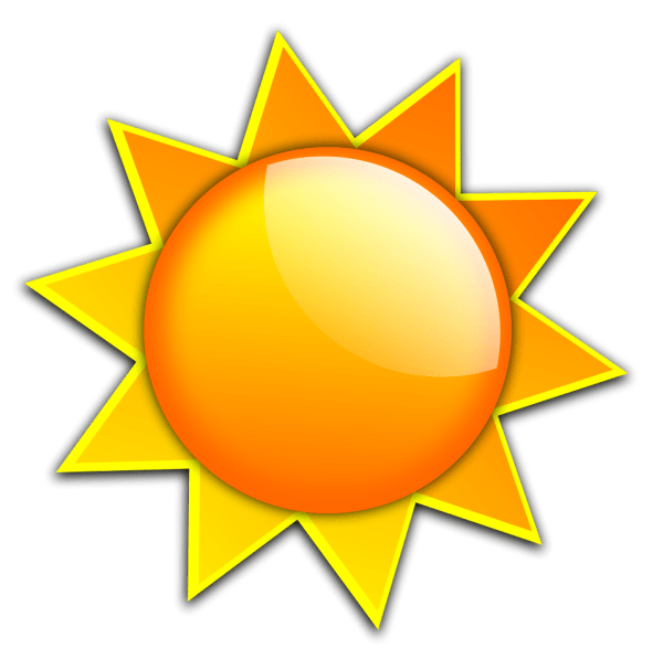 sun free stock illustration