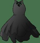 Black Dress Clip Art