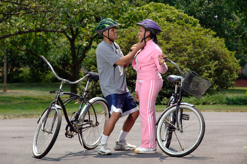 Image result for bike ride african american couples
