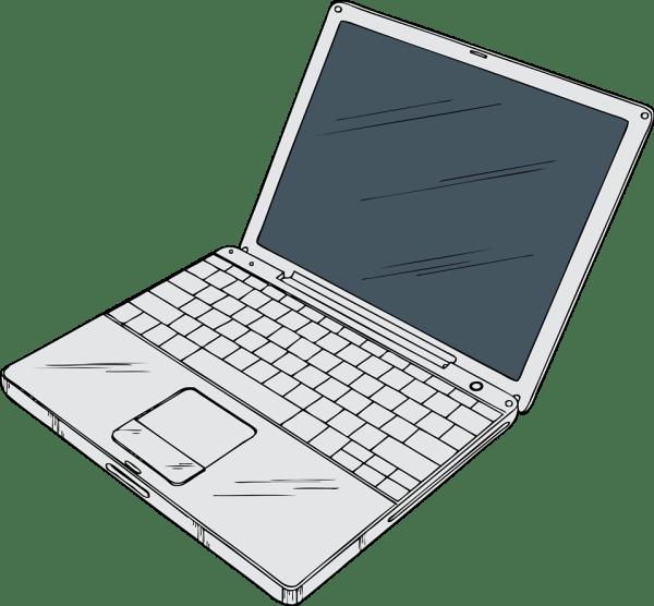 Laptop Free Stock Illustration Of Computer # 17116