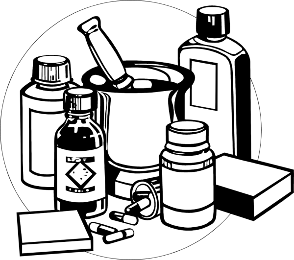 medicine free stock illustration