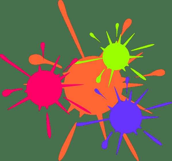 Paint Splatter Clip Art