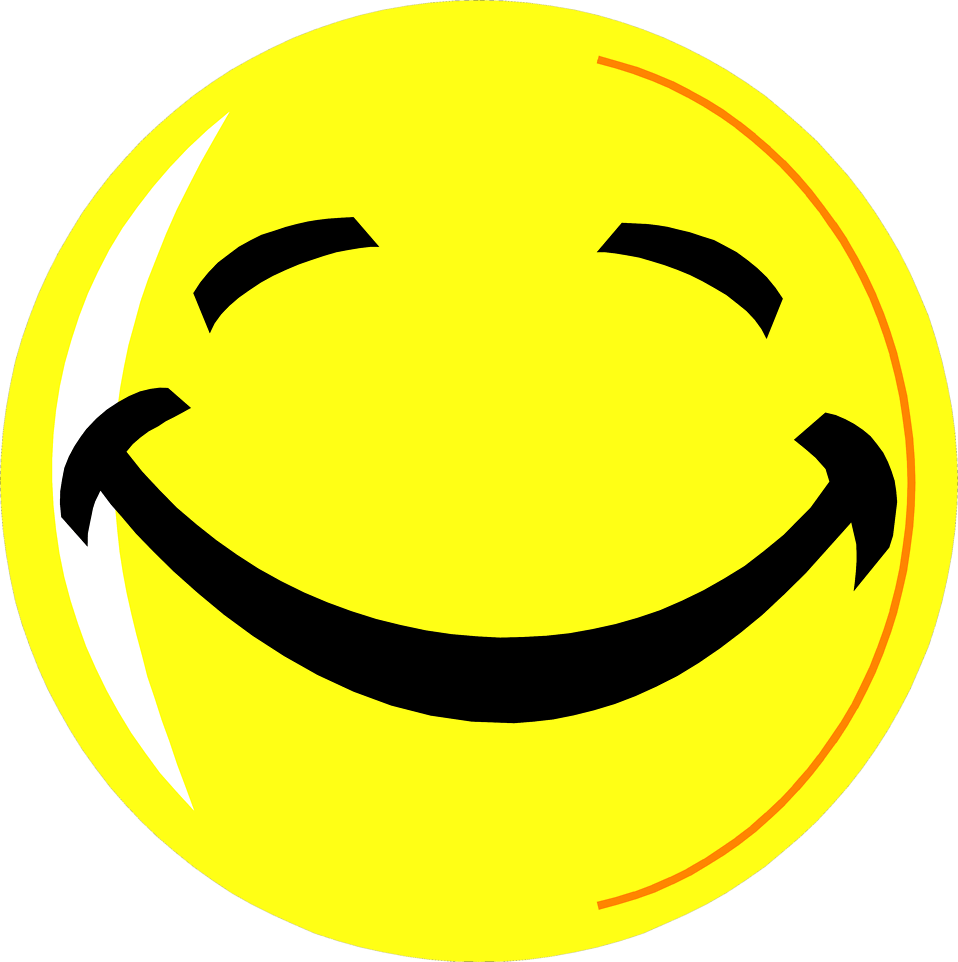Smiley Face  Free Stock Photo  Illustration of a yellow smiley face   6316