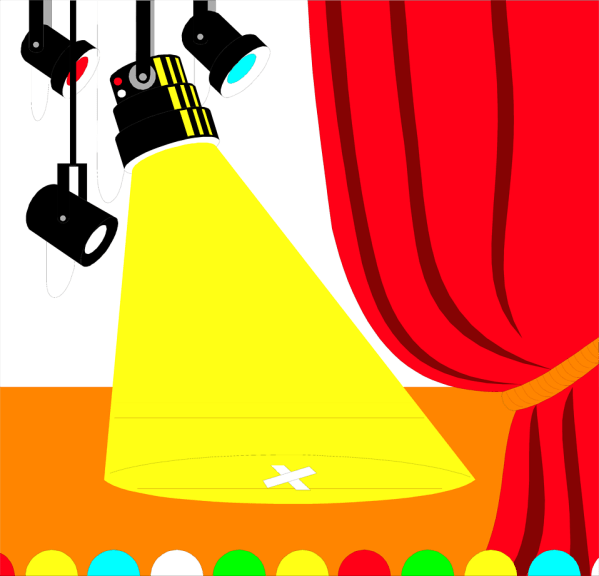 Spotlight Free Stock Illustration Of Empty