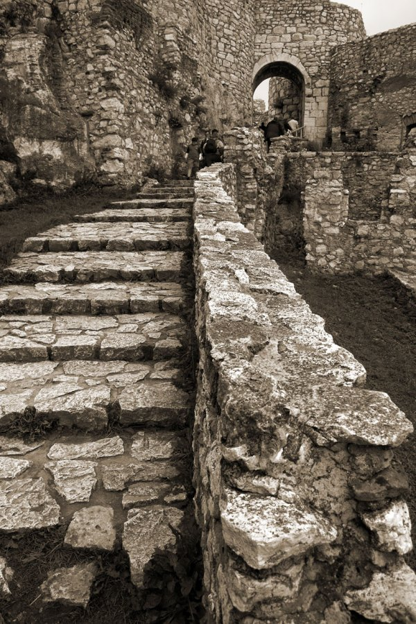 Steps Free Stock Stone In Spis Castle