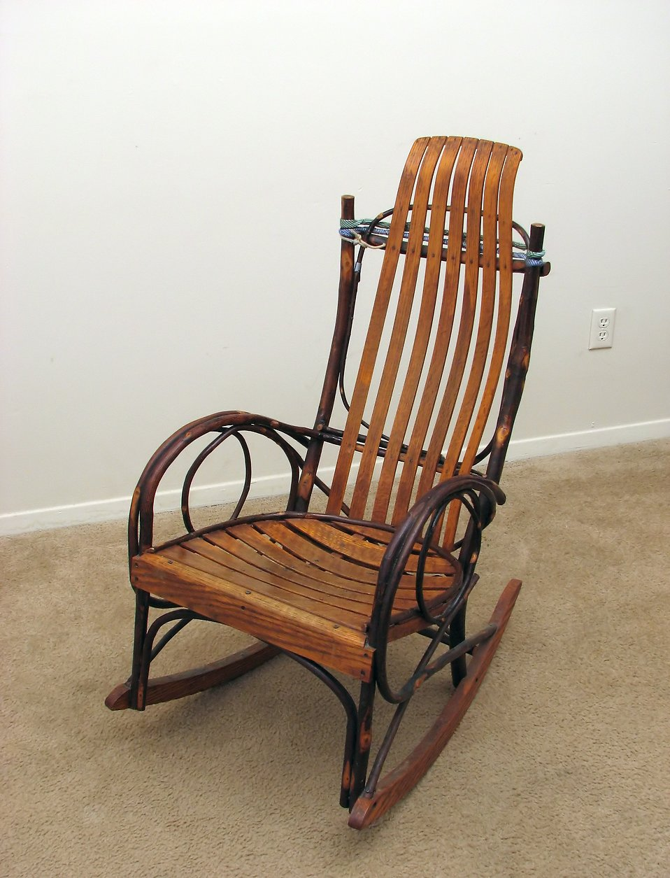 Rocking Chair  Free Stock Photo  An old wooden rocking