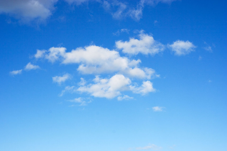 clouds free stock photo